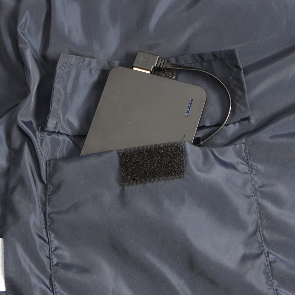 電熱ヒーターベンチレーションジャケット