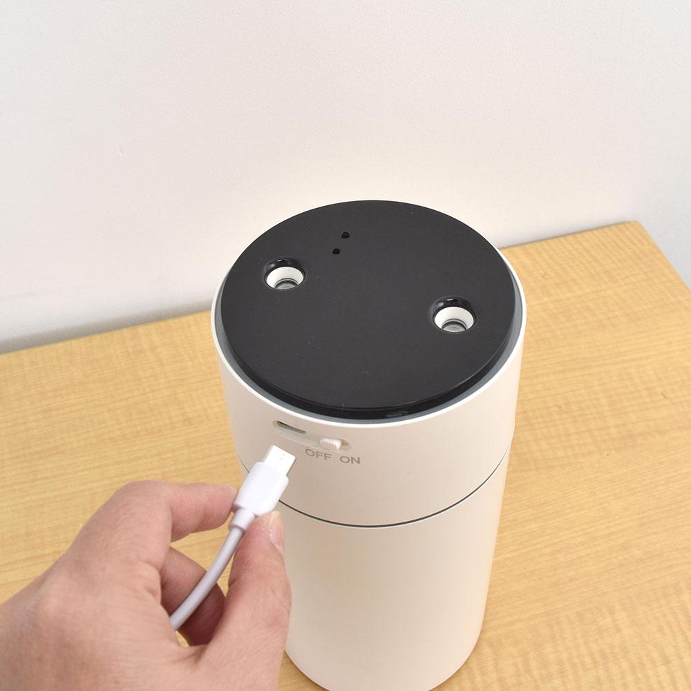 ライトで癒すベッドサイド加湿器「センサーミストツイン」