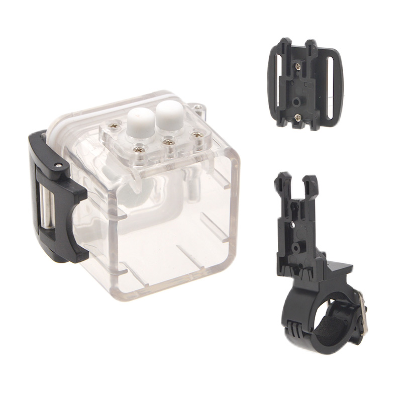 指でつまめる防犯サイコロカメラ用防水ケース