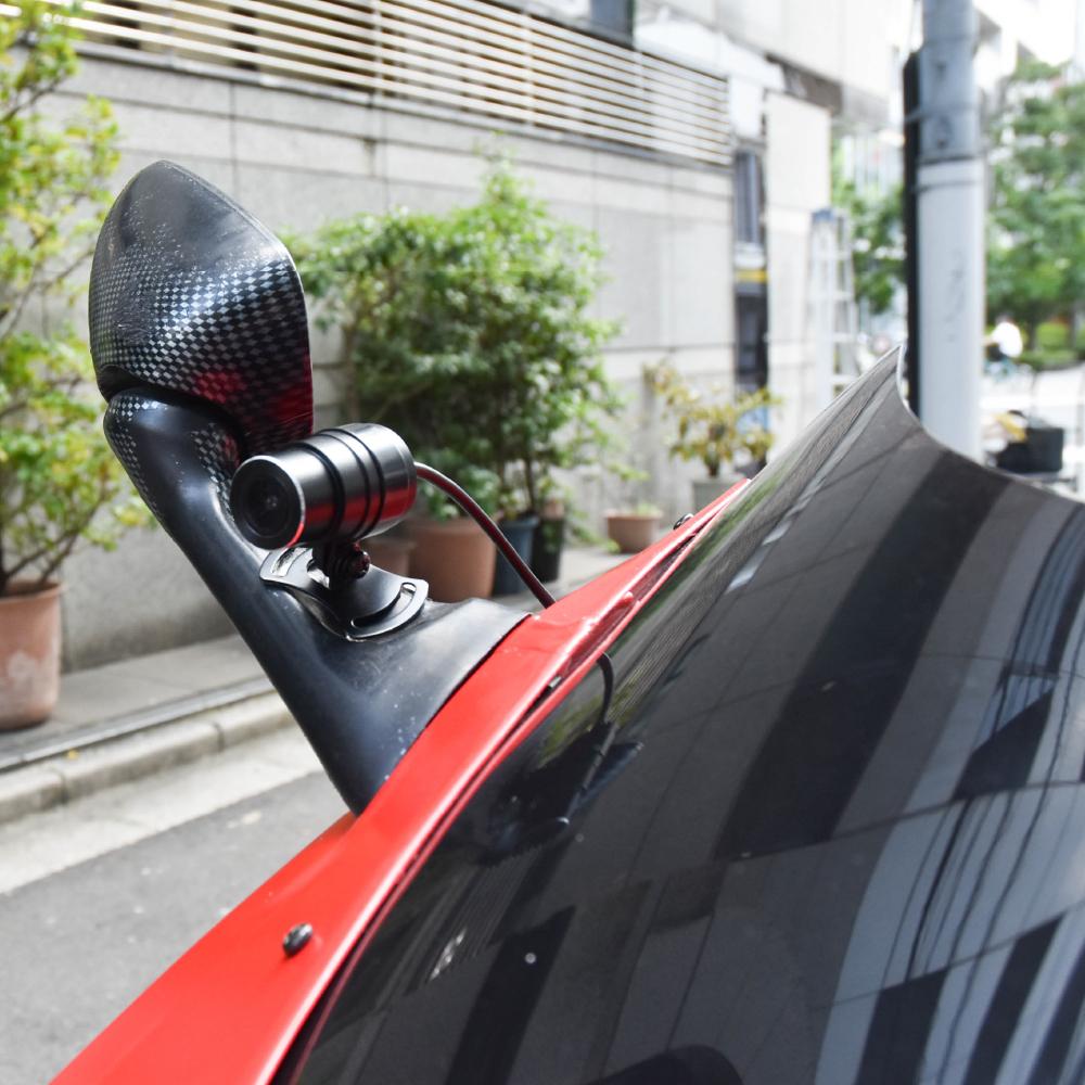 衝撃感知&完全防水!バイク用前後ドライブレコーダー
