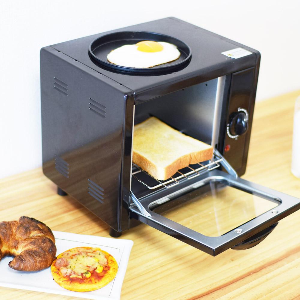 パンと同時調理「目玉焼きトースター」