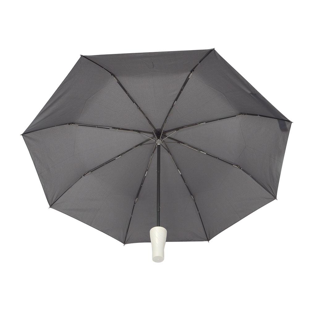 置き場所に困らない折りたたみ傘「ハンガーアンブレラ」
