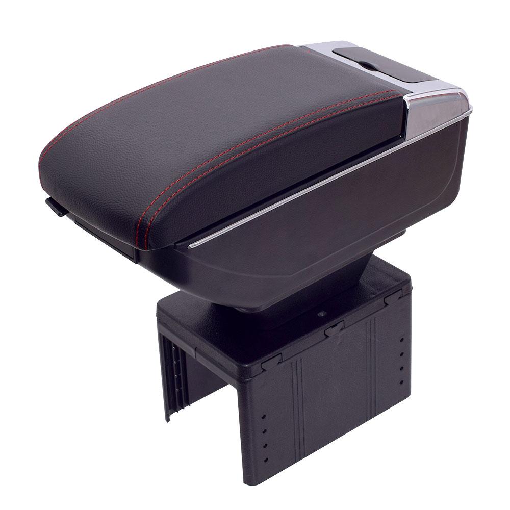 DIY車用アームレストコンソール収納ボックス