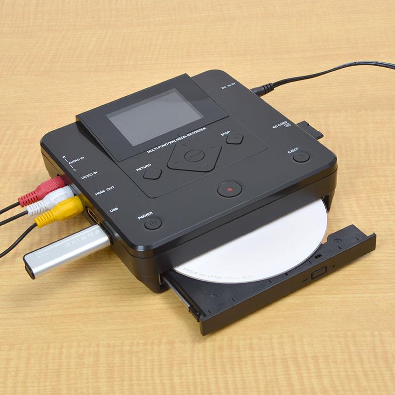 アウトレットPCいらずでDVDにダビングできるメディアレコーダー