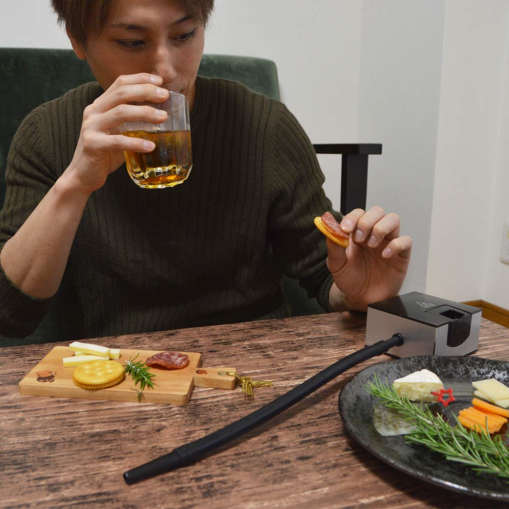 おうちで簡単燻製「燻煙加香」