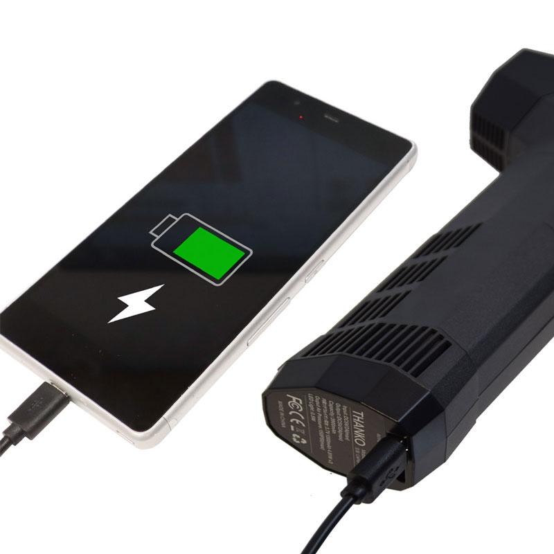 充電式空気入れ「電動エアコンプレッサーmini」