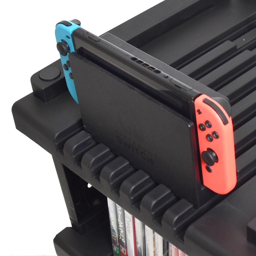 HDMI切替付オールインワンゲームラック「ザ・ゲーミングレジデンス」