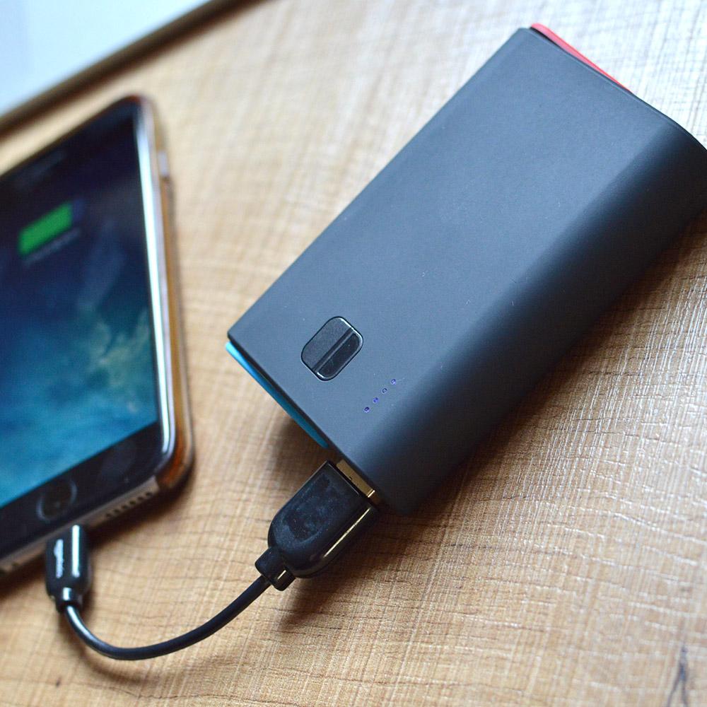Nintendo Switch用置くだけモバイルバッテリー10000mAh