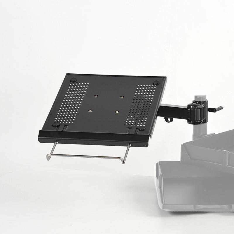 ノートパソコン用4軸式アーム(ポール取り付け用部品)