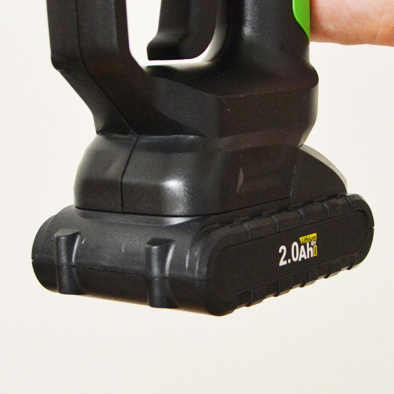 充電式タンクレス高圧洗浄機「強力ウォーターガン」用バッテリー