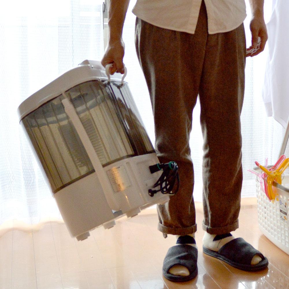 靴専用ミニ洗濯機「靴洗いま専科」