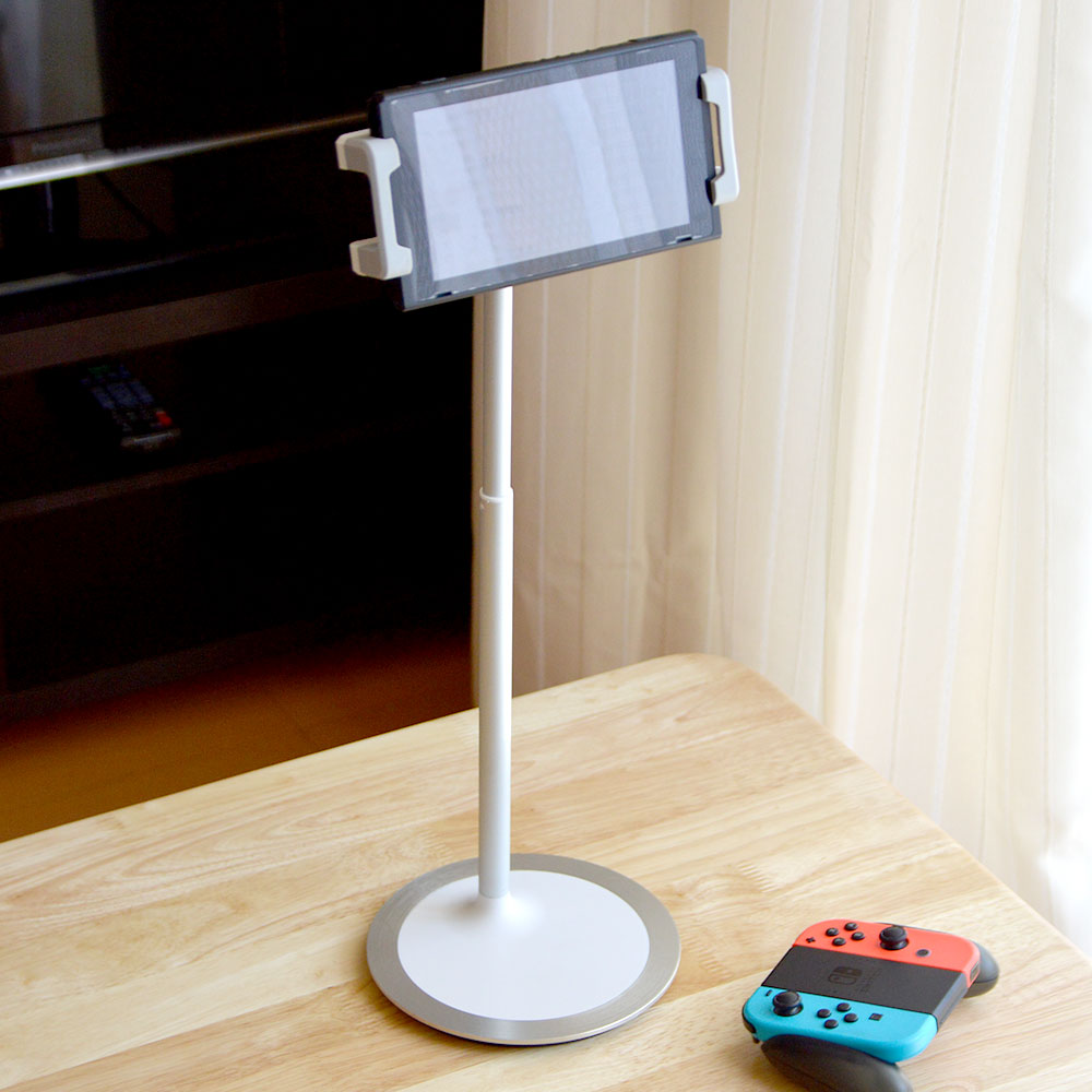 Nintendo Switch&スマホ・タブレット用卓上伸縮ポールスタンド