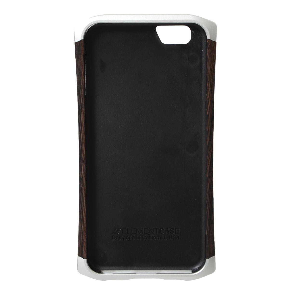ウッド&メタルケース for iPhone 6