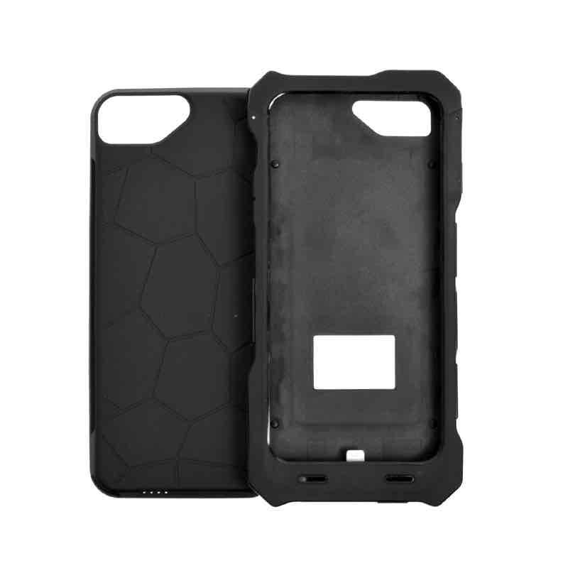 iPhone 6用ソーラー充電もできるバッテリーケース