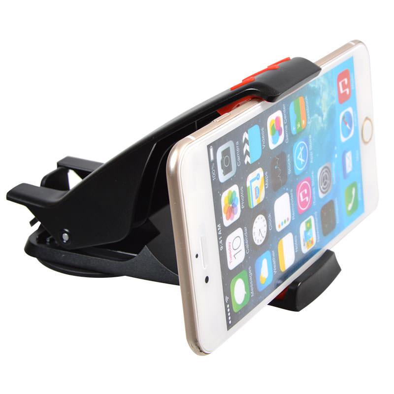 ゲル吸盤式スマートフォン平置き車載ホルダー