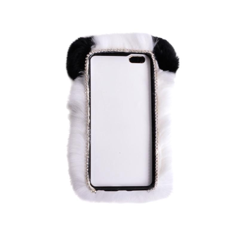 もふもふパンダケース for iPhone 6 Plus/6s Plus