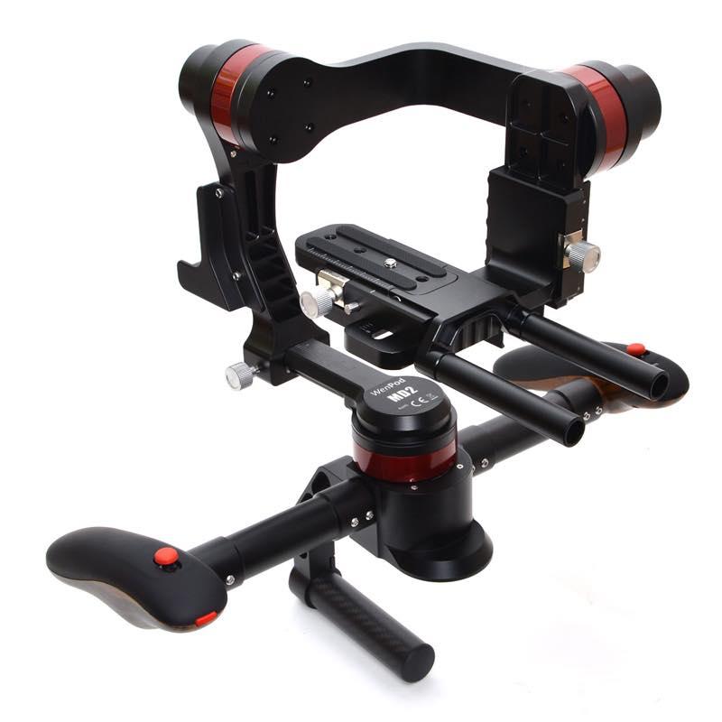 デジタル一眼対応 超高性能両手グリップ3軸電子制御スタビライザー