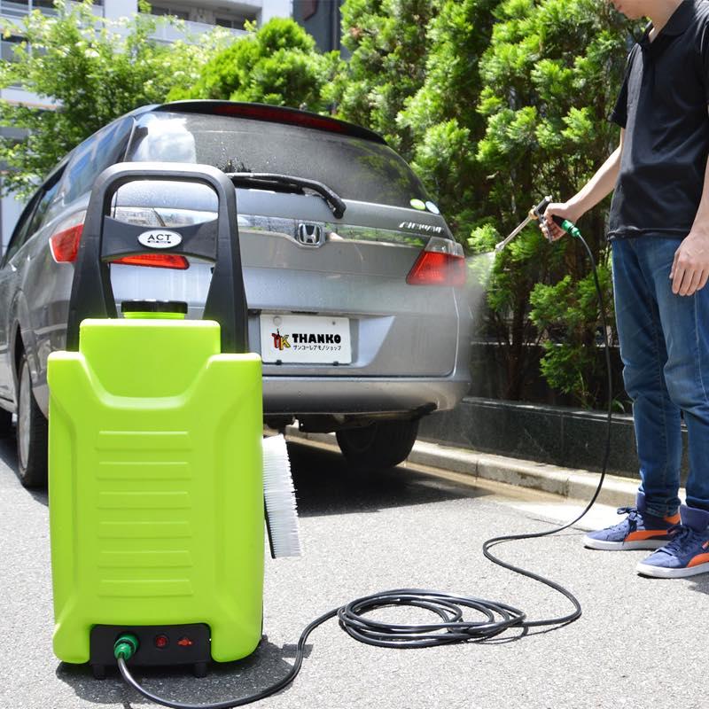 タンク式充電どこでも高圧洗浄機
