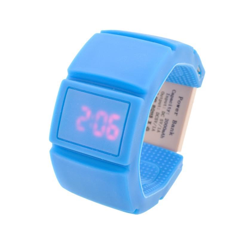 リストバンドバッテリー時計「ウォッチャGO」