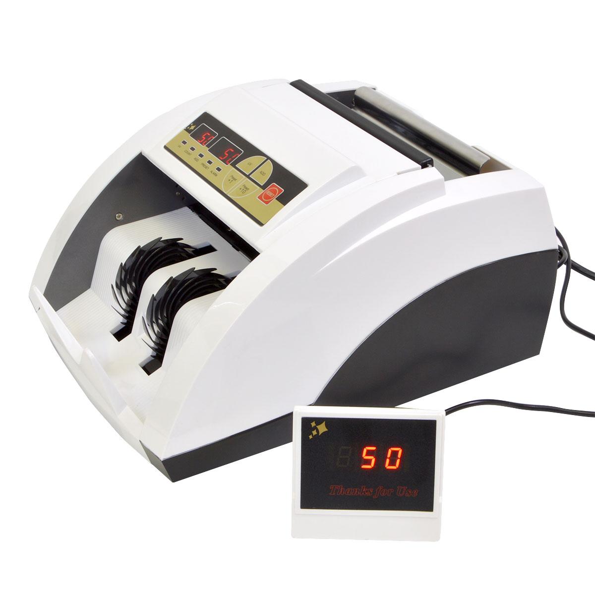 電動オート紙幣カウンター紫外線偽札検知機能付