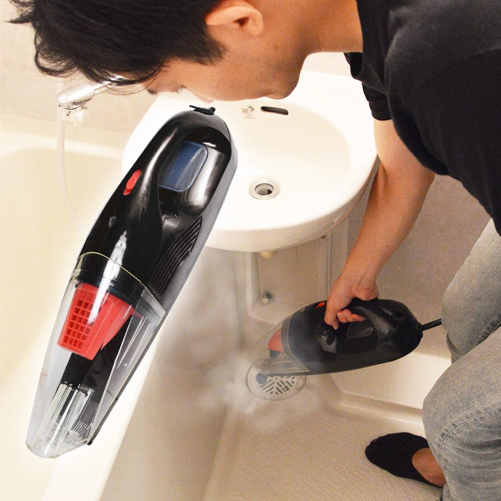 スチーム&バキュームの強力洗浄がこれ一台で!「浮かせて吸い取るクリーナー」