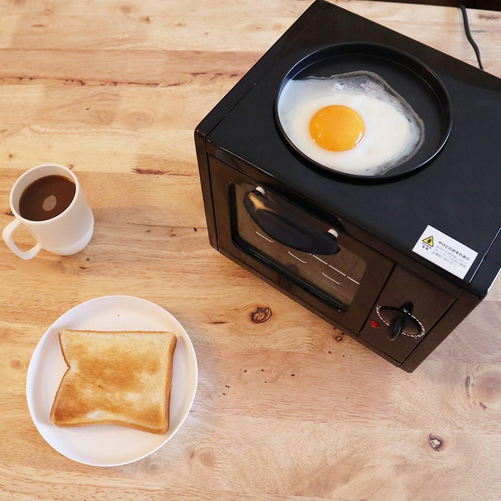 朝食を手軽においしく「お一人様モーニングトースター」