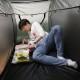 おひとり様用折りたたみ式テント「ベッドdeテント」