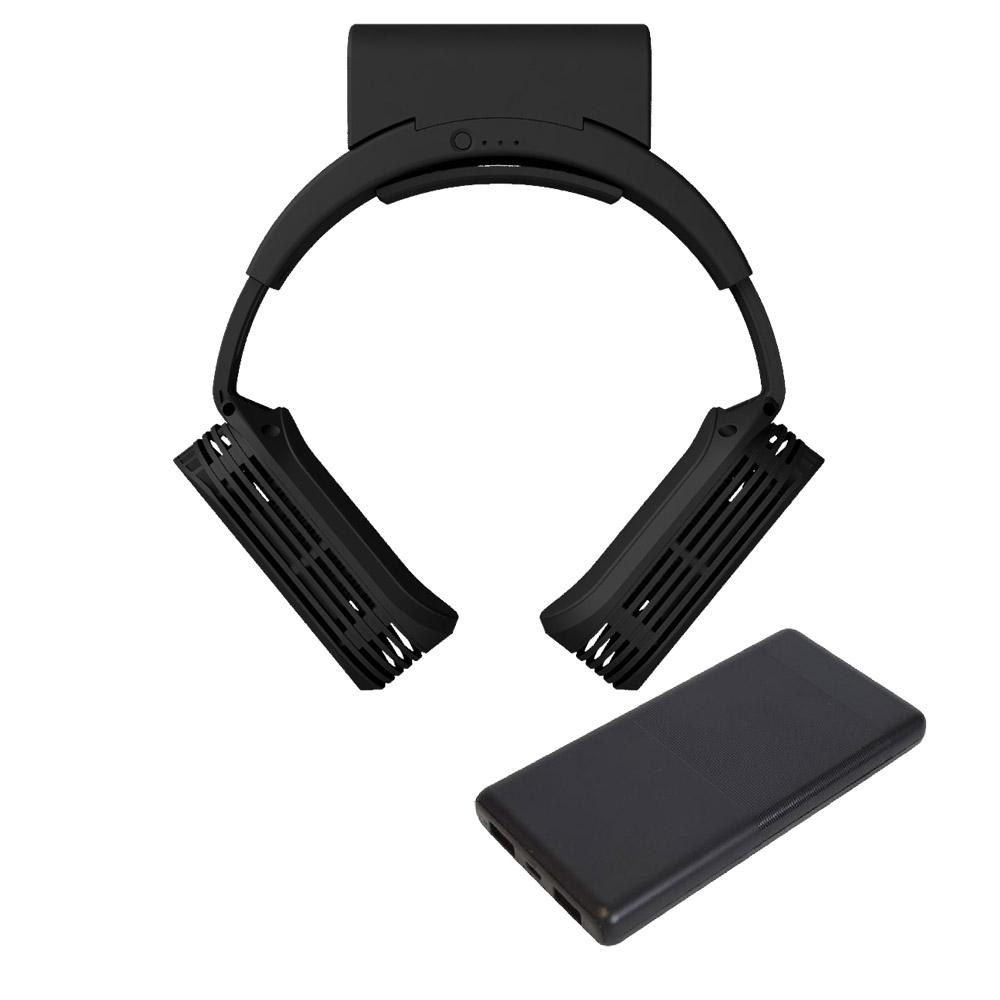 ネッククーラーEvo専用バッテリー同梱モデル + 10000mAhモバイルバッテリーセット