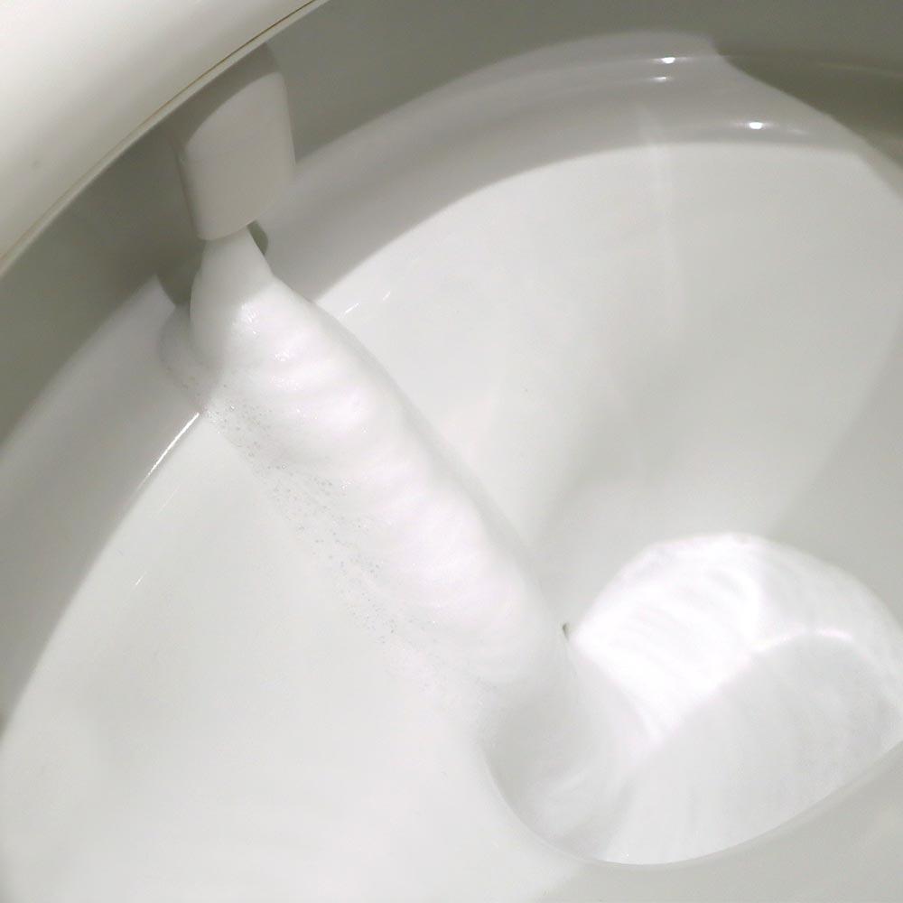 ★品切れ中★もこもこ泡で飛び跳ね抑制「後付けトイレバブル洗浄機」 ※次回受注開始までお待ちください