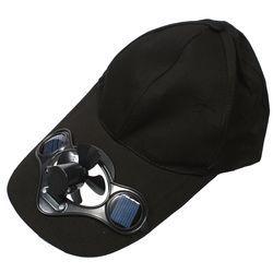 ソーラーファン内蔵帽子