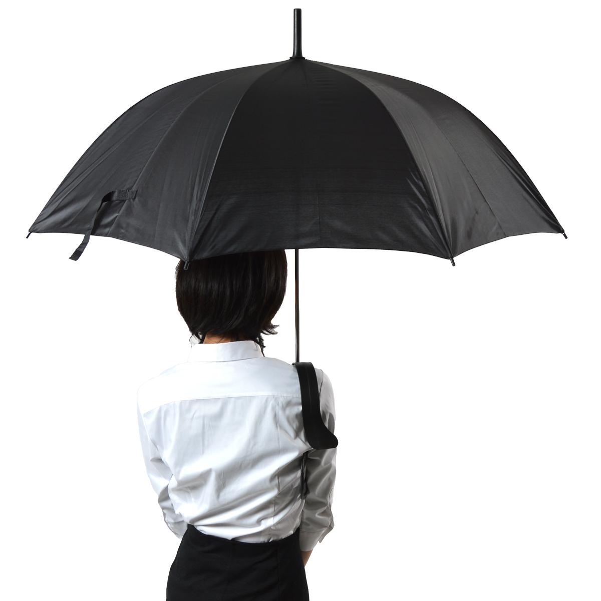 肩がけ傘「手ぶら〜ンブレラ」