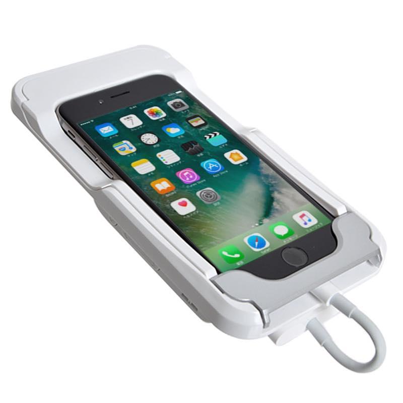 iPhoneケース型モバイルDLPプロジェクター Lightning - Digital AVアダプタ付き