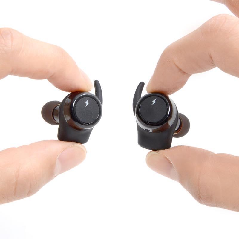 左右独立型完全ワイヤレスイヤホン「mimi-fit GO」