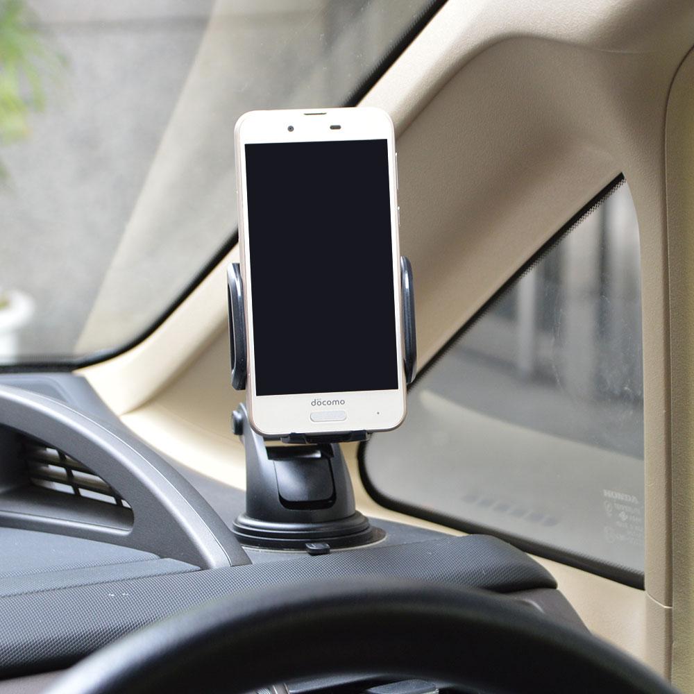 センサー式で自動開閉するオートスマートフォンホルダー