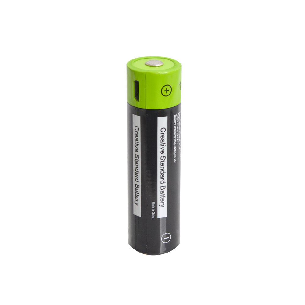 充電器不要!USB充電できる乾電池 18650形