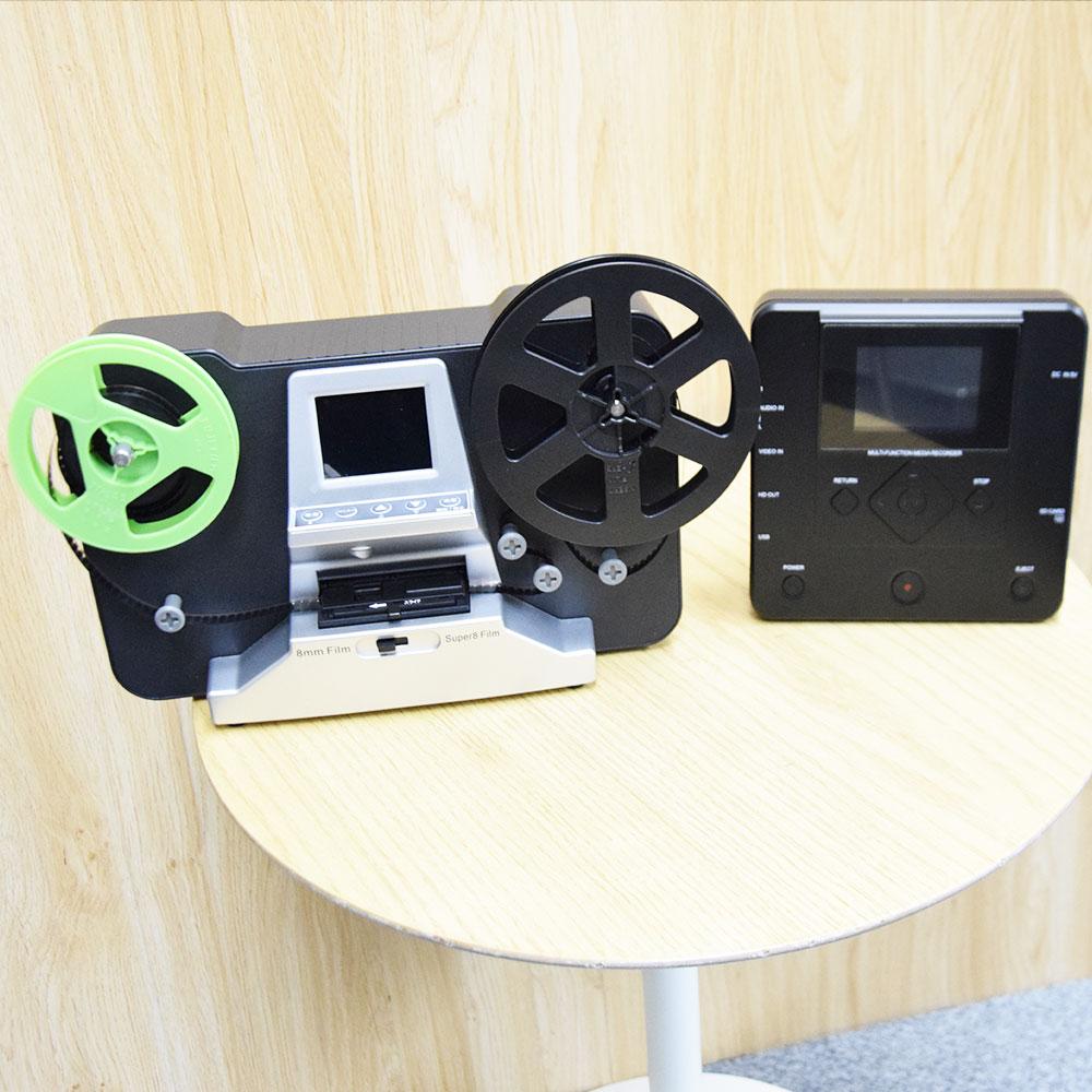 8mmフィルムをDVD化するセット