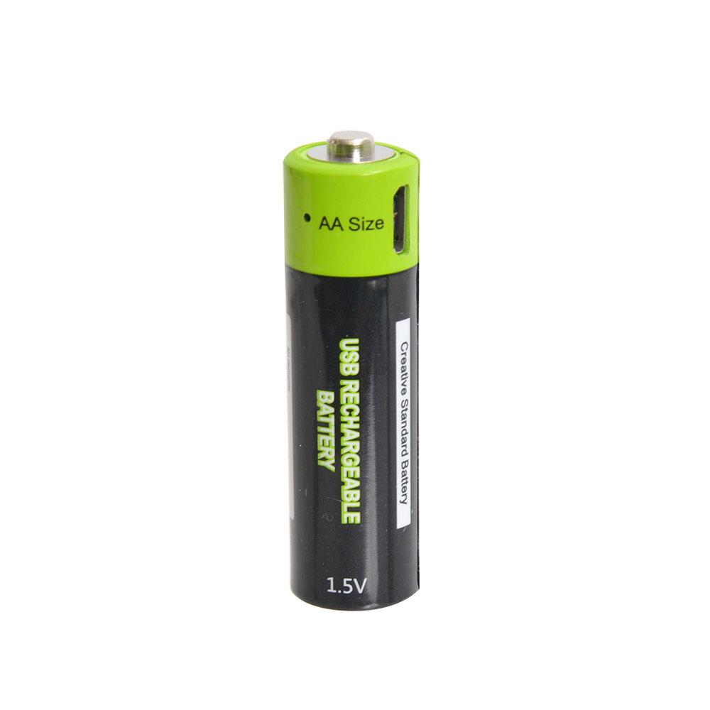 充電器不要!USB充電できる乾電池 単3形2本セット