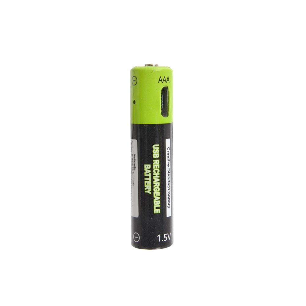 充電器不要!USB充電できる乾電池 単4形2本セット