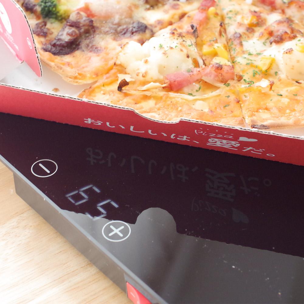 Lサイズピザにも対応!「フードウォーマープレート」