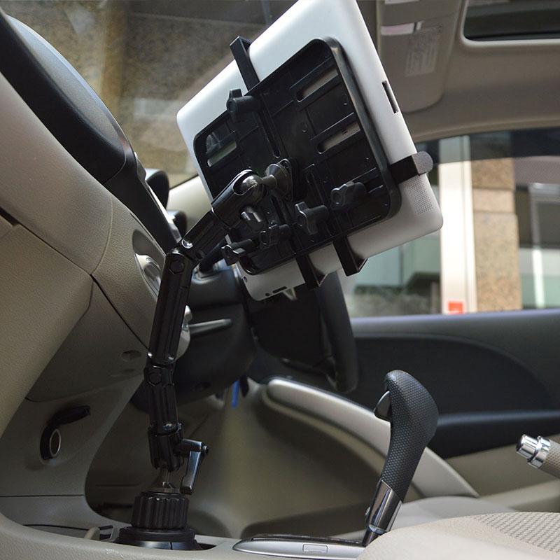 車載がっちりタブレットカップホルダー