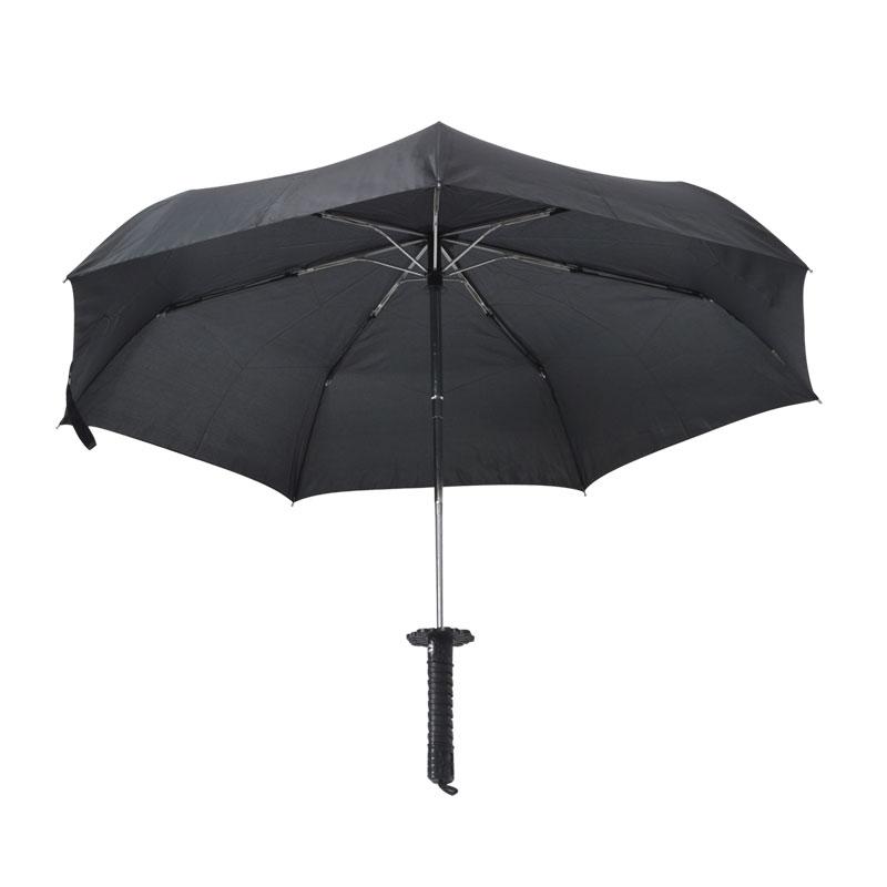 折り畳みサムライ傘