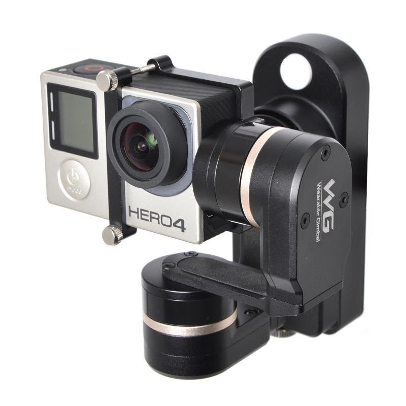 GoPro用 ウェアラブル3軸電子制御カメラスタビライザー