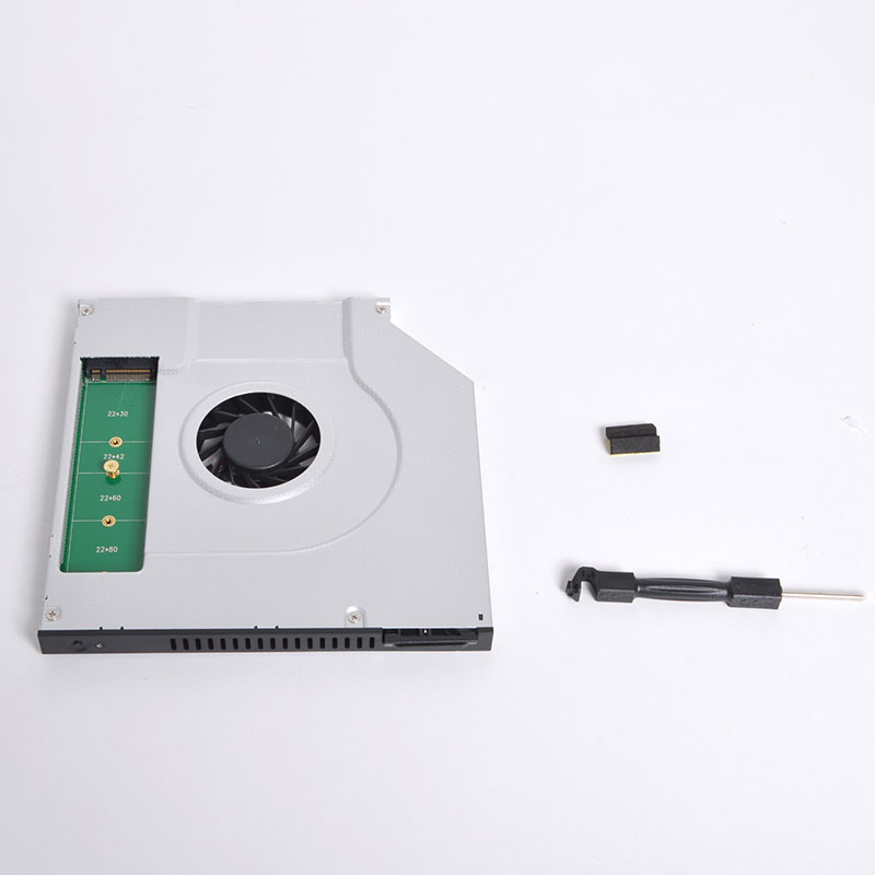光学ドライブを冷却クーラーとSSDにできちゃうキット