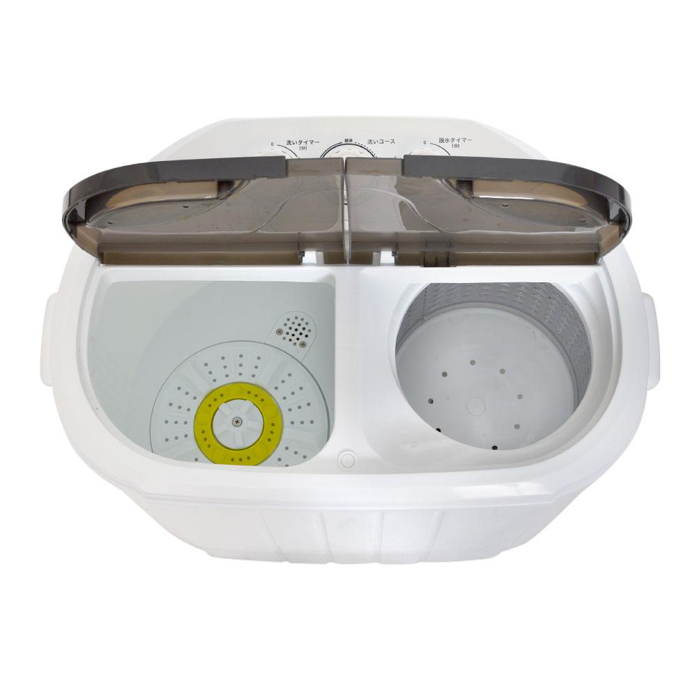 小型二槽式洗濯機「別洗いしま専科」2