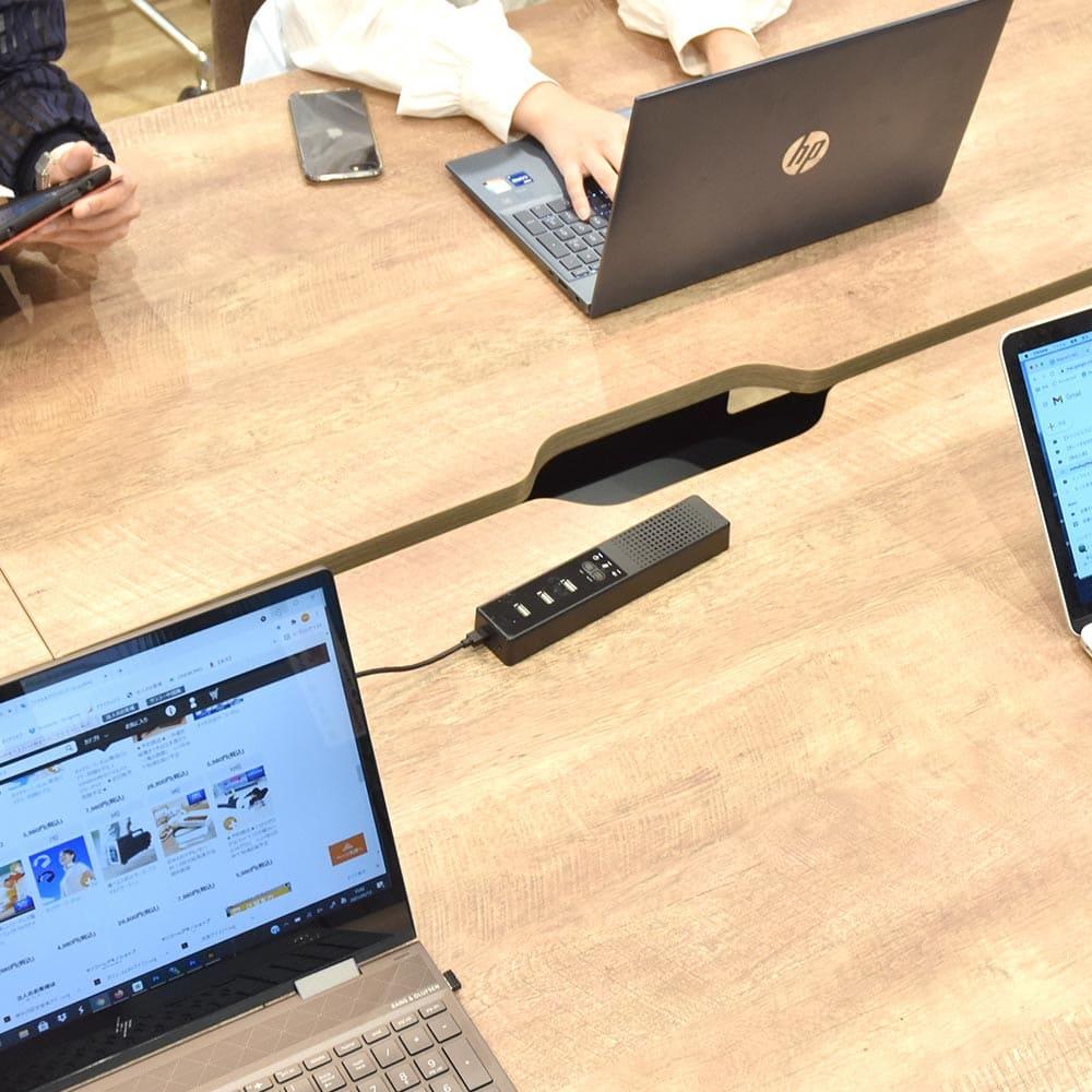 WEB会議に最適!「多機能スピーカーフォンパッド」