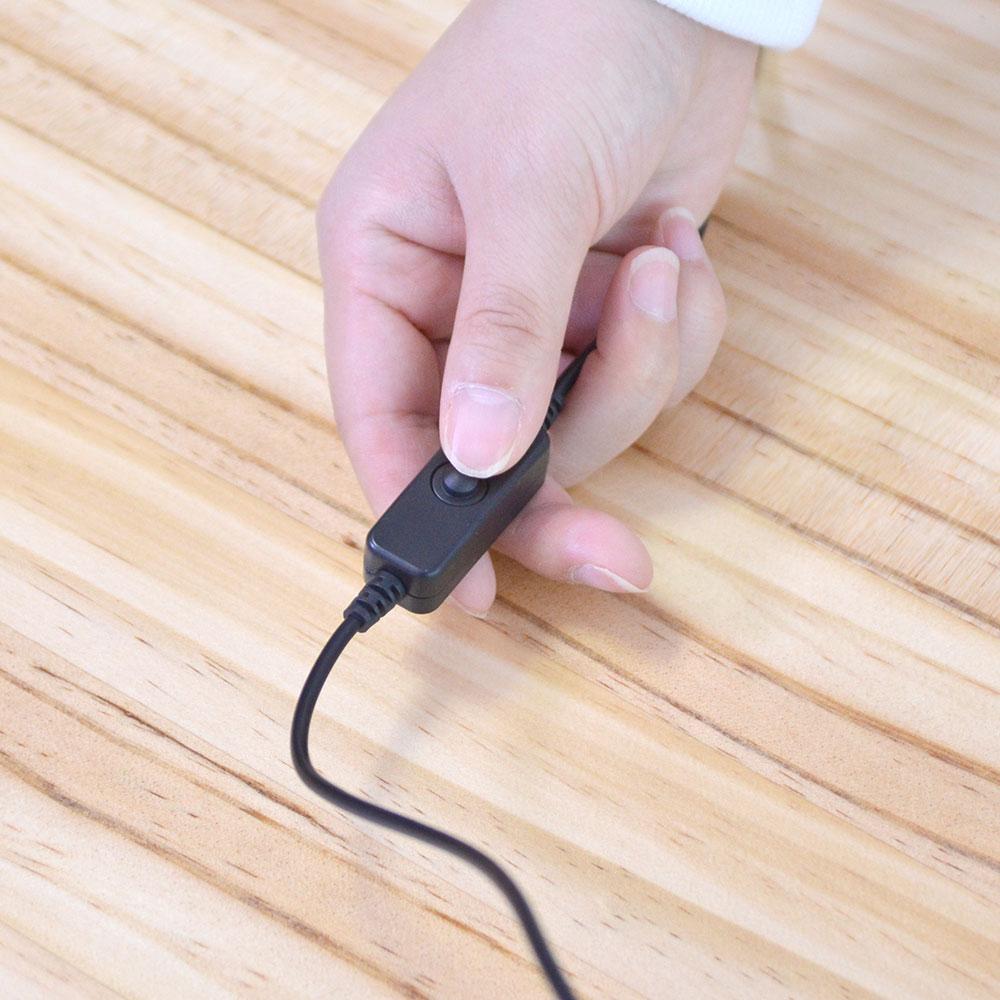 USBカーボンヒータースリッパ