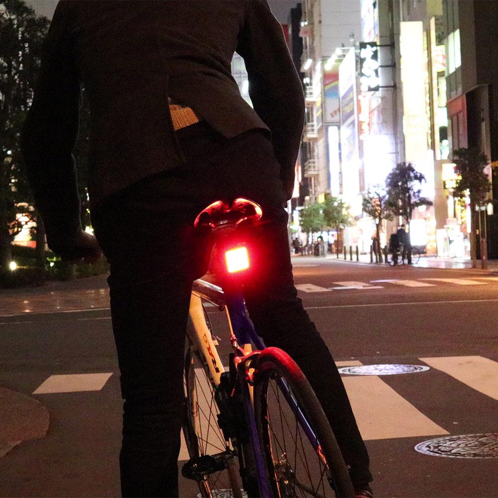 自転車用オートウィンカー&テールランプ「オートベクター」