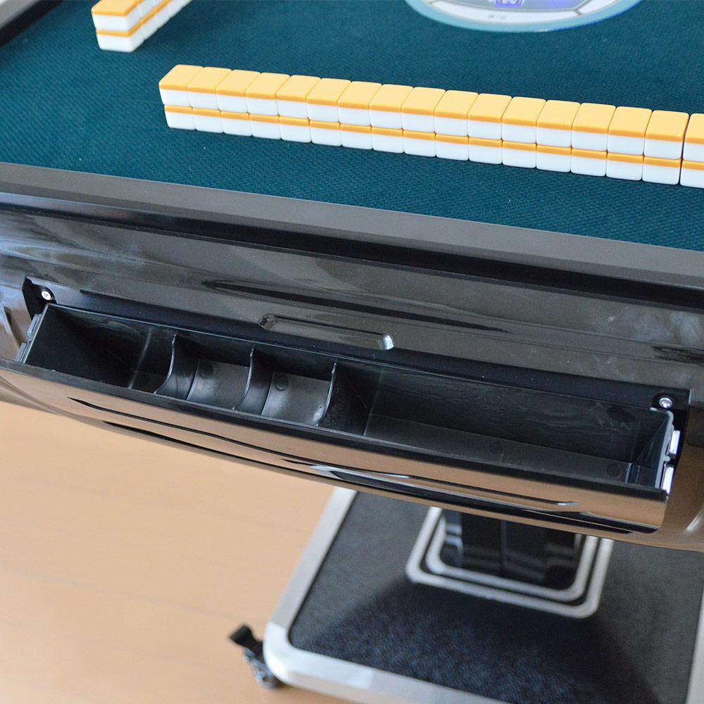 【品切れ中、次回入荷時期判明次第予約受付開始】自宅で気軽に楽しめる静音タイプ「折り畳み式全自動麻雀卓28mm牌」