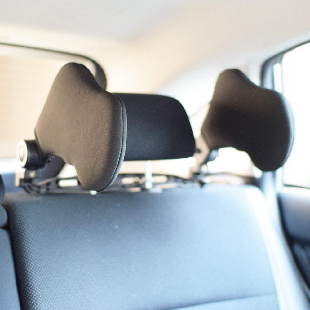 車内で快適睡眠「ヘッドレストまくら」