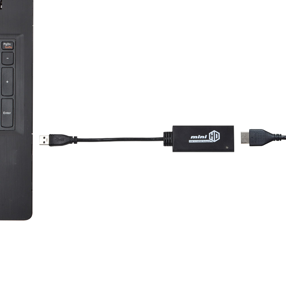 USB3.0(2.0)-HDMI変換アダプタ